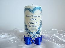Svietidlá a sviečky - Krstná mama, ďakujem ღ - 9994972_