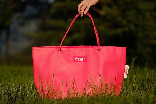 Veľké tašky - Úsmev ako dar - DORKA bag (Červenám sa!) - 9995839_
