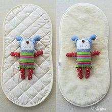 Textil - Podložka do vaničky kočíka STOKKE Scoot 100% ovčie rúno MERINO ELEGANT - 9996772_