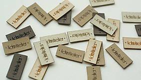 Drobnosti - Koženkové štítky na objednávku - 9995540_
