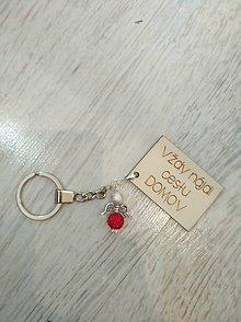 Kľúčenky - Klucenka ,,najdi cestu,, s anjelikom - 9993476_