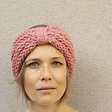 Čiapky - turbančelen ružová iná - 9993537_