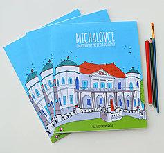Hračky - Omaľovánka MICHALOVCE - 9993628_