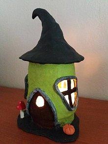 Dekorácie - halloweensky domček - 9995052_