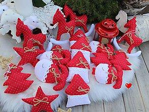 Dekorácie - Vianočná sada na stromček.. - 9996380_