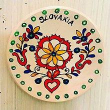 Kresby - Tanierik tradičný slovenský ornament - 9997430_