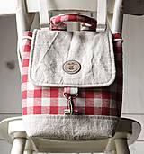 Batohy -  Károvaný mini batôžtek  - 9993764_