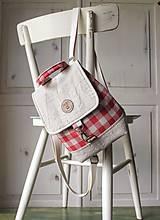 Batohy -  Károvaný mini batôžtek  - 9993765_