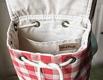 Batohy -  Károvaný mini batôžtek  - 9993770_