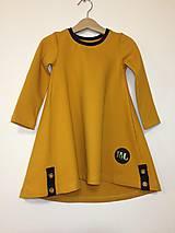 Detské oblečenie - Šaty dlhý rukáv - Revel - 9997137_