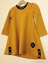 Detské oblečenie - Šaty dlhý rukáv - Revel - 9997139_