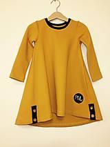 Detské oblečenie - Šaty dlhý rukáv - Revel - jesenný úplet - 9997141_