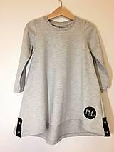 Detské oblečenie - Šaty dlhý rukáv - Revel - jesenný úplet - 9997145_