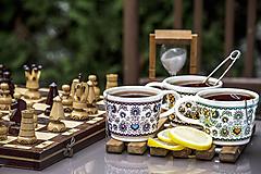 Nádoby - Keramický hrnček - Šangala - 9993849_