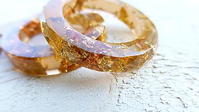 Prstene - Živicový prsteň - 9996927_