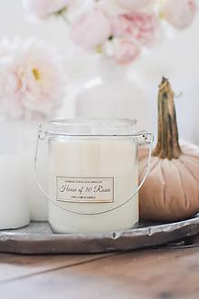 Svietidlá a sviečky - Sójová sviečka s vôňou 'Vanilla Milk' 540g - 9996044_