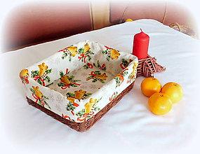 Košíky - Košík - na vianočné sladkosti - 9994454_