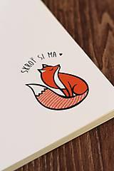 Papiernictvo - Skroť si ma - zápisník A5 - 9994277_
