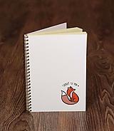Papiernictvo - Skroť si ma - zápisník A5 - 9995802_