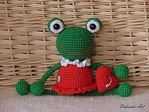 Hračky - Žabka akrobatka ♥ - 9999873_