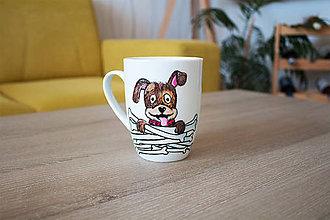 Nádoby - Hrnček pre milovníka psov :) - 10000067_