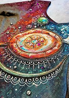 Šaty - maľované šaty ... lízanková princezná Ela ♥ - 10000202_