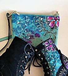 Kabelky - maľovaná kabelka ... lízanková princezná Ela ♥ - 10000293_