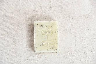 Drogéria - Prírodné mydlo s avokádovým maslom a makom - 10000962_