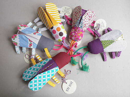 pískacia Mucha - hračka pre najmenších na objednávku