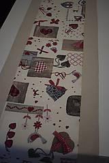 Úžitkový textil - VÁNOČNÍ BĚHOUN .. - 10000072_