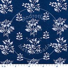 Textil - modrotlač - bavlnená metráž 14 - 9998200_