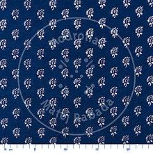 Textil - modrotlač - bavlnená metráž 08 - 9998224_