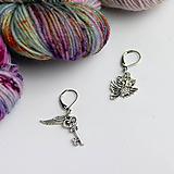 Iné šperky - stitch marker - označovač očiek - rôzne motívy - 9998549_