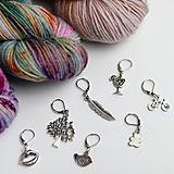 Iné šperky - stitch marker - označovač očiek - rôzne motívy - 9998564_
