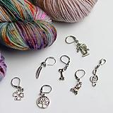 Iné šperky - stitch marker - označovač očiek - rôzne motívy - 9998580_