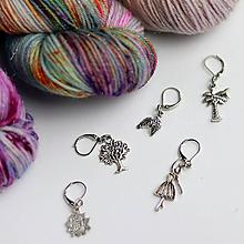 Iné šperky - Označovače - Stitch markers - 9998592_