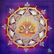 Obrazy - Mandala...Sila ženy - 10000667_