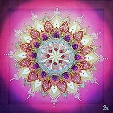 Obrazy - Mandala...Hviezda poznania - 10000716_