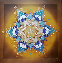 Obrazy - Mandala ochrany a stability - 10000837_