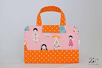Detské tašky - Detský kufrík - pastelkovník Dievčatá IV. - 10000442_