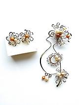 Sady šperkov - Sada šperkov, brošňa/prívesok