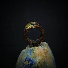 Prstene - Drevený prsteň: Rovnodennosť - 9998878_