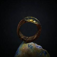 Prstene - Drevený prsteň: Pod starou lipou - 9998985_