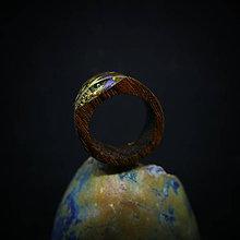 Prstene - Drevený prsteň: Cestou k tebe - 9999170_