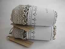 Nákupné tašky - Retro sieťovka (s vnútorným vreckom) - 9999312_