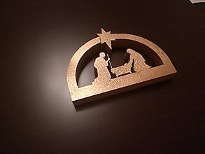 Dekorácie - 3D Nápis: Betlehem (Biela) - 10000773_