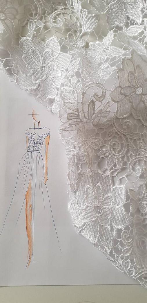 Svadobné šaty pre Haniah   Dyona - SAShE.sk - Handmade Šaty e7703c52b77