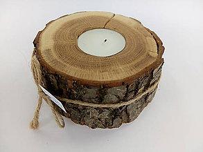 Svietidlá a sviečky - Svietnik na čajovú sviečku - 10000438_