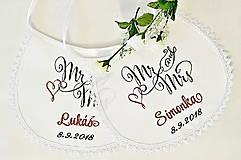 - svadba -podbradníky vyšívané - 9998219_