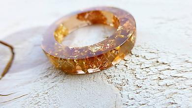 Prstene - Živicový prsteň - 10000629_